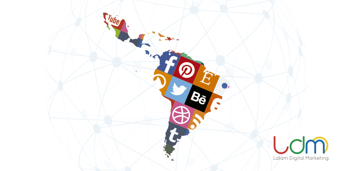 redes sociales en latinoamérica