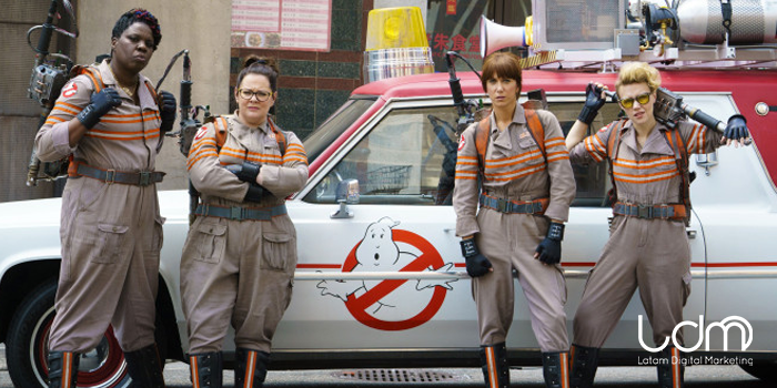 La nueva Ghostbusters y su estrepitosa campaña de marketing